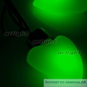 Гирлянда ARL-HEART-5000-20LED Green (220V, 5W) - Arlight-019836