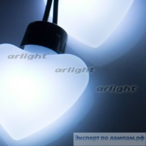 Гирлянда ARL-HEART-5000-20LED White (220V, 5W) - Arlight-019840