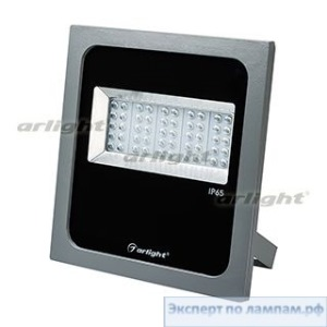 Светодиодный прожектор AR-FLAT-ARCHITECT-50W-220V Warm (Grey, 50x70deg) - Arlight-023841