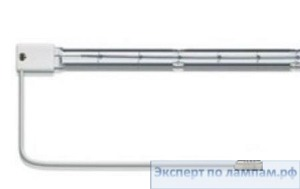 Лампа инфракрасная DR.FISCHER 14173Z/98 2000W 400V Standard lamps SK15 with white refector Short wave - DF-924573149116