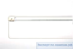 Лампа инфракрасная DR.FISCHER 13561U/98 1200W 144V Standard lamps U-clip with white refector Short wave - DF-924586157716