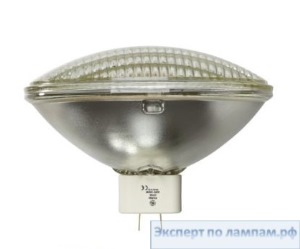 Лампа специальная студийная General Electric SHOWBIZ SUPER CP62 EXE MF 240V 1000W 3200K 138000cd 300h GX16d - GE-88536