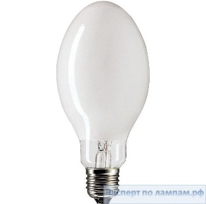 Ртутная лампа прямого включения (бездроссельная) PHILIPS ML 100W E27 225-235V - PH-871150018048330