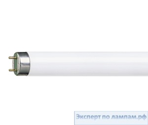 Лампа люминесцентная T8 PHILIPS MASTER TL-D Super 80 220V 15W G13 2700K 1000lm - PH-871150070278440