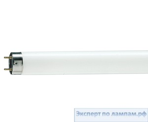 Лампа люминесцентная T8 PHILIPS TL-D Standard Colours 220V 18W G13 6500K 1080lm - PH-928047305451