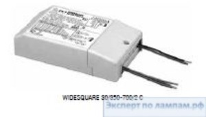 Драйвер TCI WIDESQUARE 30/350-700/2 C 30W 350-700mA 277V 129x76x30mm TCI-127163