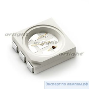 Светодиод ARL-5060URC3 Red (U4F) - Arlight-008550