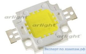 Мощный светодиод ARPL-10W Warm White 3000K (LMA009) - Arlight-017892