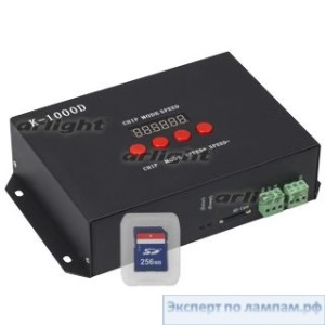 Контроллер DMX K-1000D (SD-card, 512 pix) - Arlight-019069