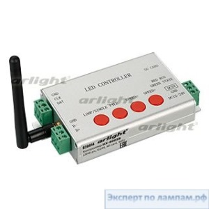 Контроллер HX-806SB (2048 pix, 12-24V, SD-card, WiFi) - Arlight-020914