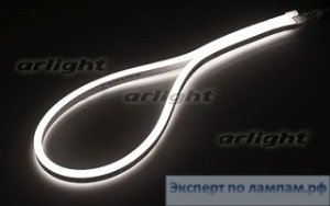 Гибкий неон ARL-CF2835-Mini-24V White (16x8mm) - Arlight-021344