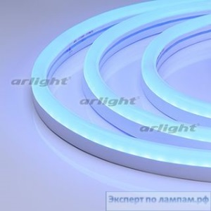 Гибкий неон ARL-CF2835-U15M20-24V Blue (26x15mm) - Arlight-021526