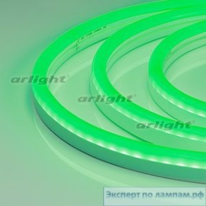 Гибкий неон ARL-CF2835-U15M20-24V Green (26x15mm) - Arlight-021527