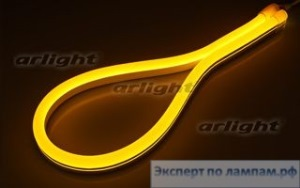 Гибкий неон ARL-CF2835-U15M20-24V Yellow (26x15mm) - Arlight-021528
