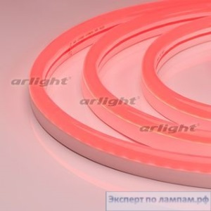 Гибкий неон ARL-CF2835-U15M20-24V Red (26x15mm) - Arlight-021529
