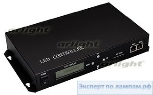Контроллер HX-803TC-2 (170000pix, 220V, SD-card, TCP/IP) - Arlight-023048