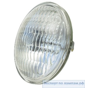 Лампа специальная студийная General Electric SHOWBIZ 50PAR36/WFL/H 12V 50W 3050K 1300cd 4000h Screw Term. - GE-19880