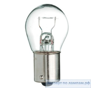 Лампы автомобильные General Electric P21W Long Life BA15s - GE-37966