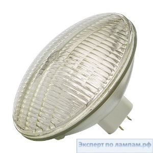 Лампа специальная студийная General Electric SHOWBIZ 500PAR64/MFL 120V 500W 2800K 37000cd 2000h ExMogEndPr GX16d - GE-39409
