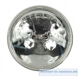 Лампа специальная студийная General Electric SHOWBIZ FBO-Q650/PAR36/5 120V 650W 3400K 75000cd 30h Screw Term. - GE-41671