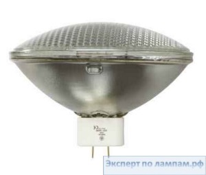 Лампа специальная студийная General Electric SHOWBIZ EXG PAR64/1000W/240V/WFL 1000W 3200K 49300cd 300h GX16d - GE-88479