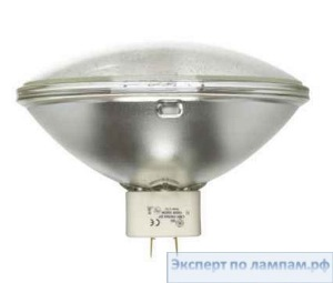 Лампа специальная студийная General Electric SHOWBIZ CMH150/PAR64/830/GX16D/MFL 150W 3000K 47000cd 8000h GX16d - GE-88537