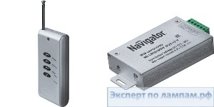 Контроллер для СД-ленты 12 В ND-CRGB180RF-IP20-12V - NAV-71495