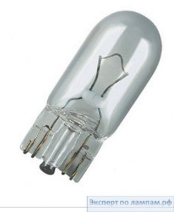 Автомобильная лампа OSRAM Cool Blue 2825-CB W5W 12V 5W W2,1x9,5d (50 box) - O-4008321094650