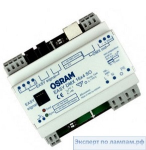 Контроллер OSRAM SHOP/HOSPITAL. EASY DMX 16x4 SO - O-4008321441522