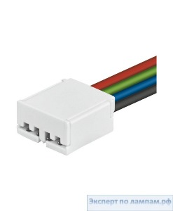 Коннектор для светодиодных лент Osram LINEARlight FLEX IP00 Connection System FX-SC08-G2-CT4PF-1000 (4pin) - O-4052899464827
