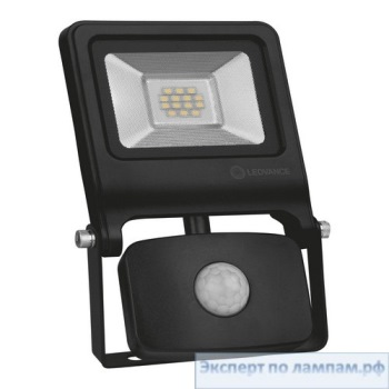 Светодиодный прожектор LEDVANCE FLOODLIGHT VALUE Sensor 30 W 4000 K IP44 BK - O-4058075268722