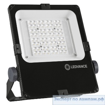 Светодиодный прожектор LEDVANCE FLOODLIGHT PERFORMANCE FL PFM ASYM 45x140 290 W 4000 K BK - O-4058075353749