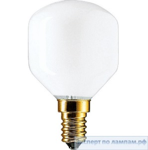 Лампа накаливания шарик PHILIPS Soft 40W E14 230V T45 WH 1CT/10X10F - PH-871150004322150