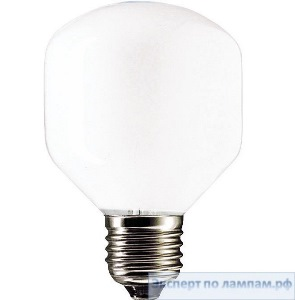 Лампа накаливания шарик PHILIPS Soft 60W E27 230V T45 WH 1CT/10X10F - PH-871150005282750