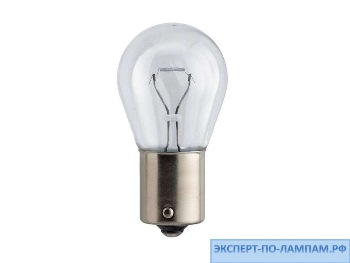 Галогеновая лампа для легковых автомобилей Philips P21W Standard 12498B2 12V 21W BA15s (8711559520131) - PH-8711500055491
