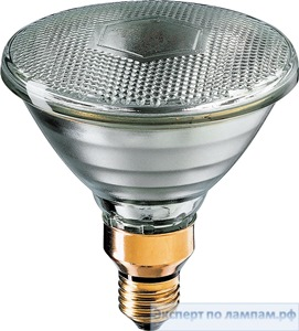 Лампа-фара накаливания Spot 120W PAR38 24V E27 10° D Philips - PH-871150038073915