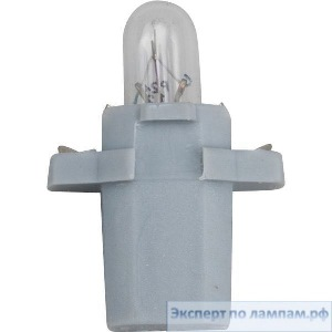Галогеновая лампа для грузовых автомобилей Philips Bax 8,3s/1,35 grey Standard 13597CP 24V 1.2W B8,3s/1,35 (8727900390797, 8711500483850) - PH-8711500483843