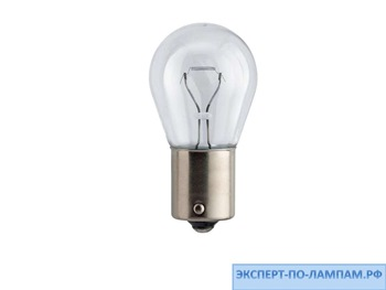 Галогеновая лампа для легковых автомобилей Philips P21W Standard 12498CP 12V 21W BA15s (8711500490803, 8711500490797) - PH-8711500490780
