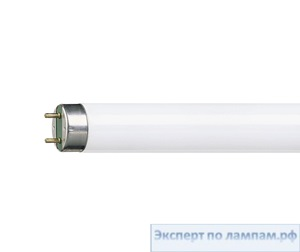 Лампа люминесцентная T8 Philips MASTER TL-D Reflex Eco 18W/830 SLV/25 - PH-871150063644740