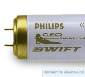 Лампа для загара в солярии PHILIPS CLEO Swift 100W-R F71T12 SLV/25 - PH-871150086617240