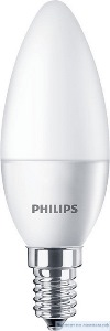 Светодиодная лампа Philips ESSLEDCandle 4-40W E27 827 B35NDFR RCA - PH-871869681673800