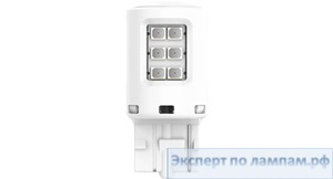 Светодиодная лампа Philips LED-AMBER [WY21W] UL 11065ULAX2 12V 0.75W W3Xx16d (8719018050762) - PH-8719018050755