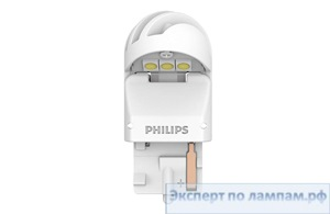 Светодиодная лампа Philips LED-WHITE [W21W] XU2 11065XUWX2 12/24V 1.7W W3x16d (8719018051479) - PH-8719018051462