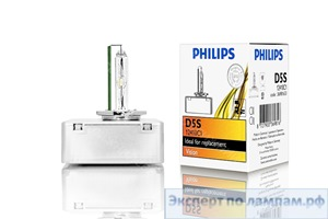 Ксеноновая лампа Philips D5S Vision 12410C1 12V 25W PK32d-7 (8727900369823) - PH-8727900369816