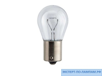 Галогеновая лампа для легковых автомобилей Philips P21W LongLife EcoVision 12498LLECOB2 12V 21W BA15s (8727900382112) - PH-8727900382105