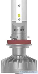 Светодиодная лампа Philips LED-FOG [H8/H11/H16] UL 11366ULWX2 12V 10W PGJ19-1/2/3 (8727900398649) - PH-8727900398632