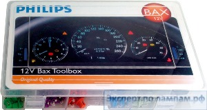 Галогеновая лампа для легковых автомобилей Philips Bax Tool Box 12V Standard 55502GKKM 12V -W - (8727900697230) - PH-8727900697179