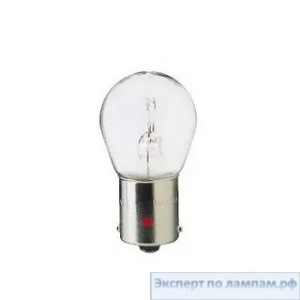 Галогеновая лампа для грузовых автомобилей Philips P21W MasterLife 13498MLCP 24V 21W BA15s (8727900391145, 8727900699623) - PH-8727900699616