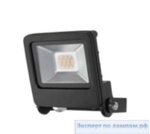 Светодиодный прожектор Radium LED Luminaires RaLED FLOODLIGHT 10W/3000K BK IP65 - RAD-4003556005211